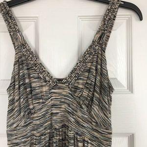 Cable Gauge Maxi Dress Space Dye Size S